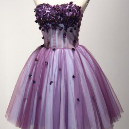 Sweetheart A-Line Homecoming Dress,..