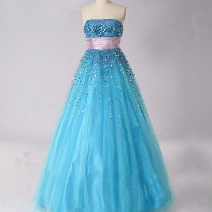 Blue Ball gown lovely Priciness Pro..