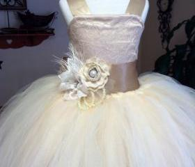 Ball Gown Cute flowe..