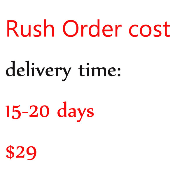 Rush Order Cost --for the order which need to be arranged to Priority