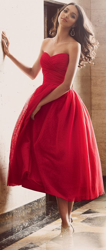 6981b8d0f4 Red strapless sweetheart homecoming dress formal party dress pleated formal cocktail  dresses short tulle evening dresses