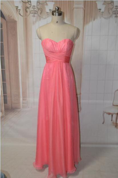 Elegant sweetheart lace and chiffon pleated A line floor length long bridesmaid dress,cheaper formal evening party prom dresses