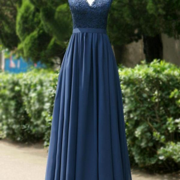 Navy Blue appliques Long prom dress Graduation gown 2015,red party dress,sepical occassion dress